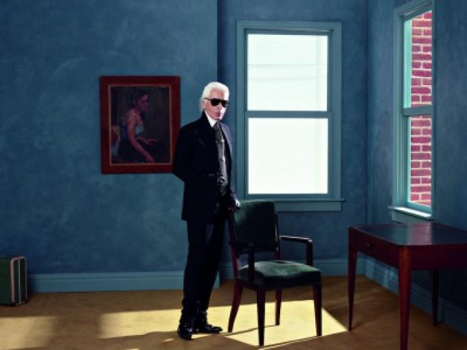 Karl Lagerfeld: a talent for photography