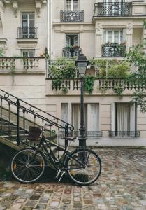 Your bicycle awaits at the Platine Hotel