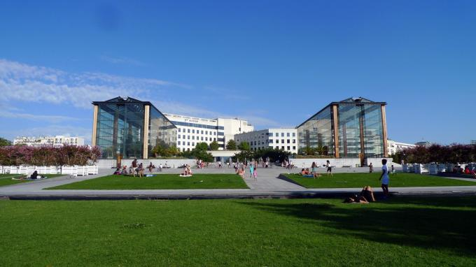 Parc André Citroen: One of the most beautiful green spaces in the capital