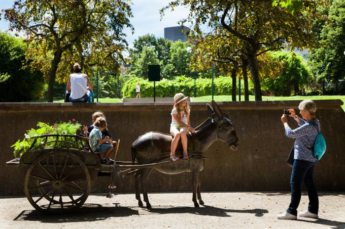 A walk in the Parc Georges Brassens